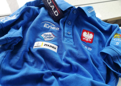 Piotr Myszka Lynton koszulka polo hafciarnia mazury